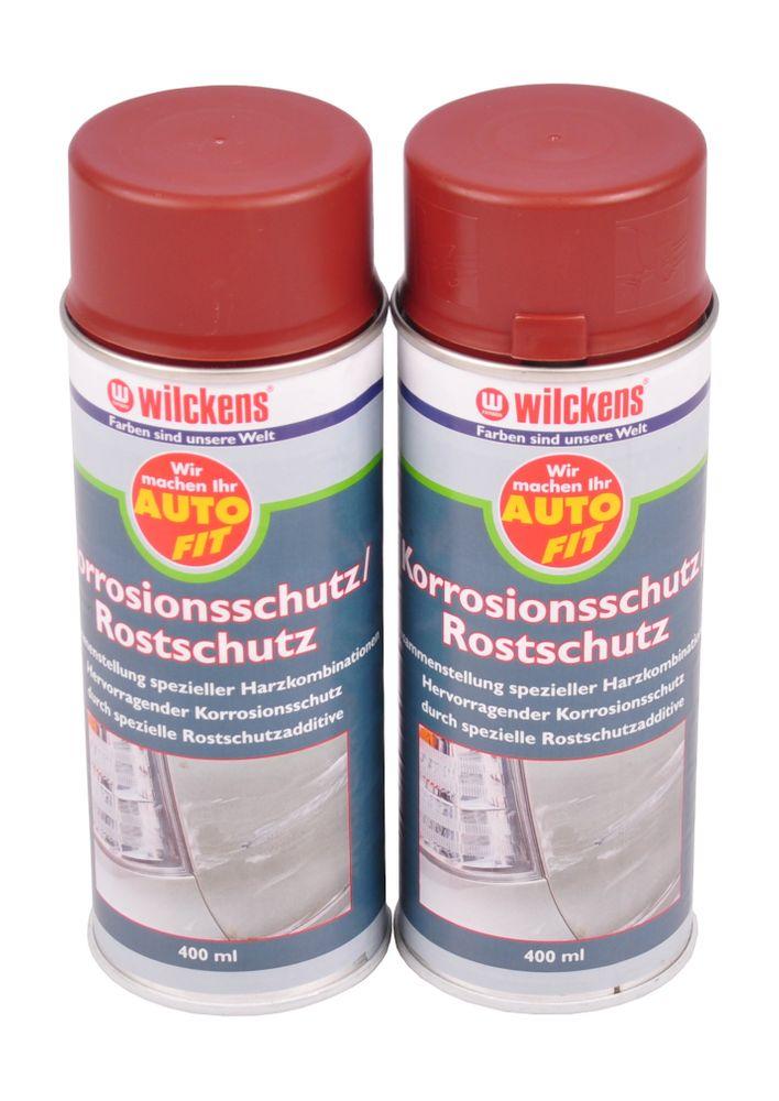 2x 400 ml Wilckens Rostschutz Spraydose braun Korrosionsschutz Grundierung – Bild 1