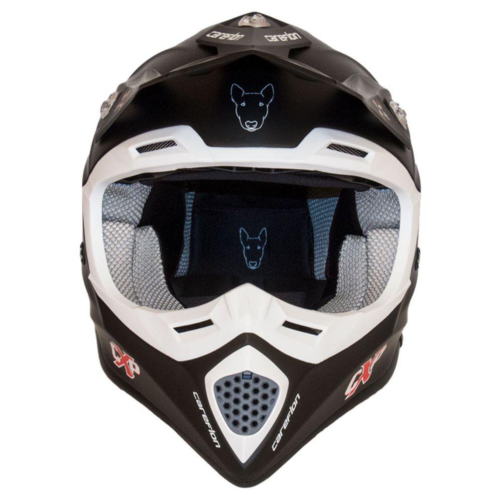 CX-2 Careflon Crosshelm Fiberglass MX Enduro Helm Motorradhelm Gr.54-64 – Bild 12