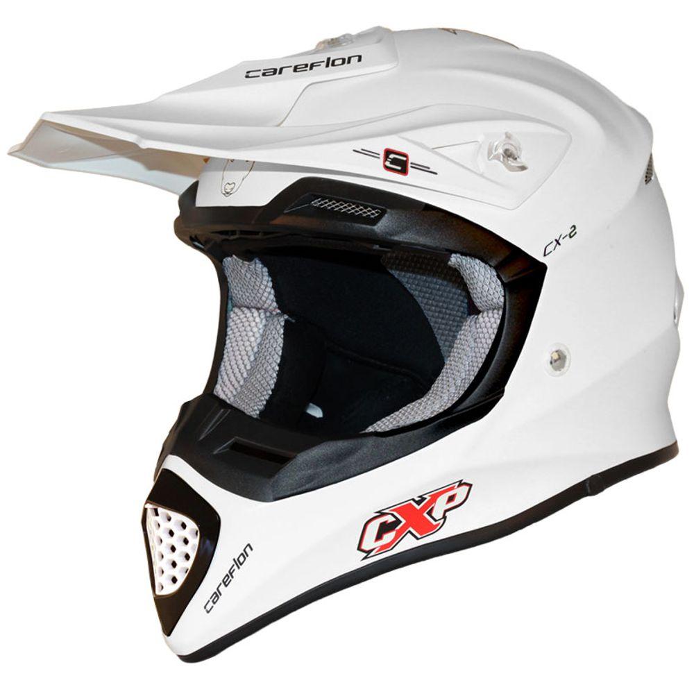 CX-2 Careflon Crosshelm Fiberglass MX Enduro Helm Motorradhelm Gr.54-64 – Bild 4