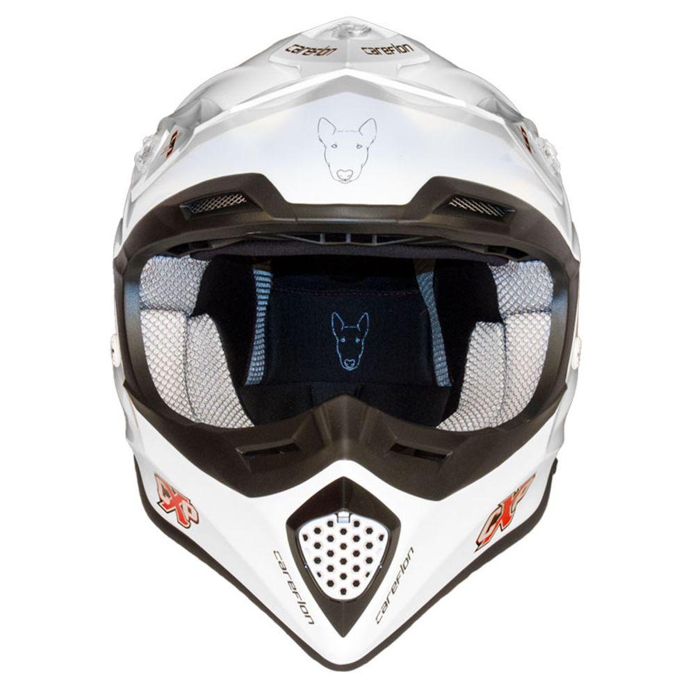 CX-2 Careflon Crosshelm Fiberglass MX Enduro Helm Motorradhelm Gr.54-64 – Bild 13