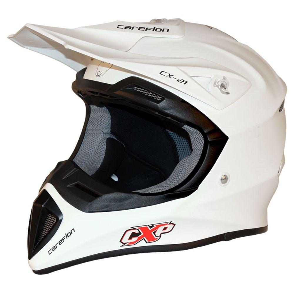 CX-2 Careflon Crosshelm Fiberglass MX Enduro Helm Motorradhelm Gr.54-64 – Bild 5