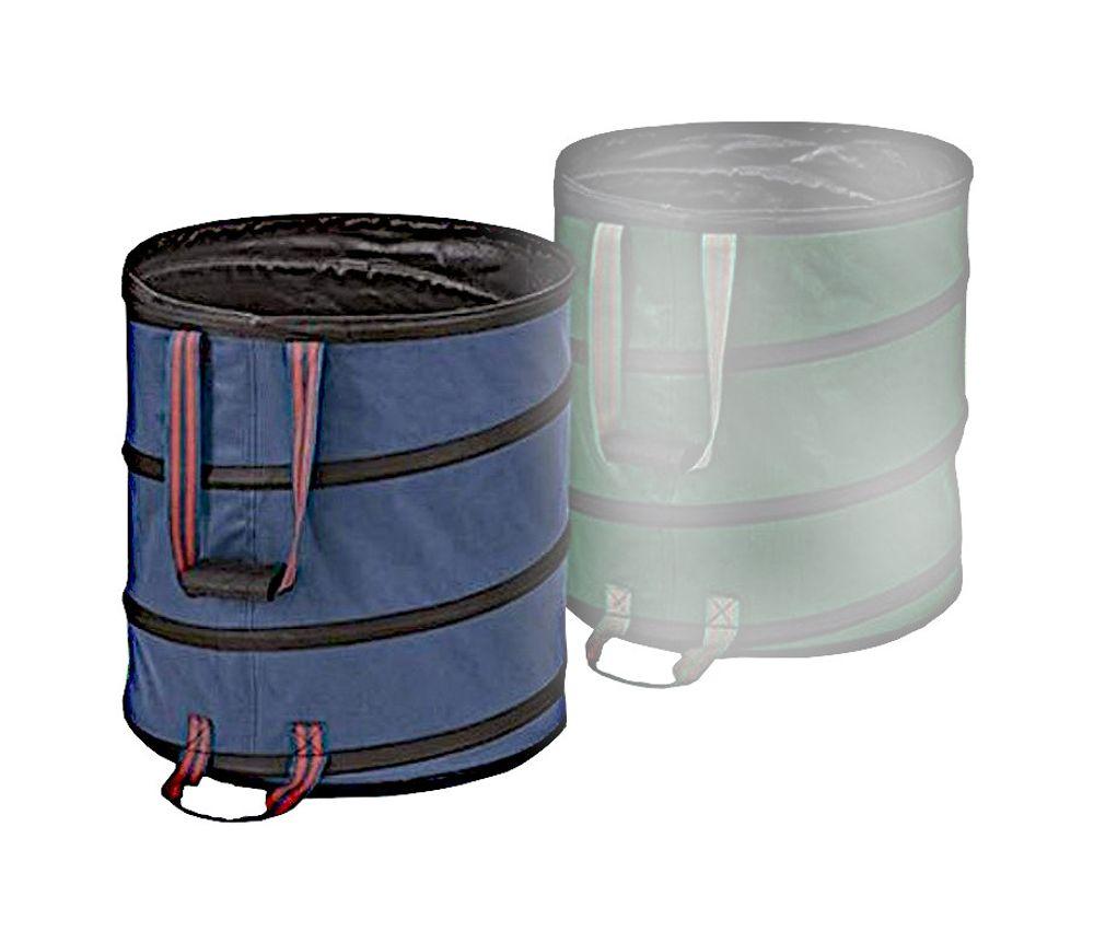 Pop-Up Garten-Abfallbehälter 85 Liter Laubsammler Gartenbehälter Abfallbehälter – Bild 2
