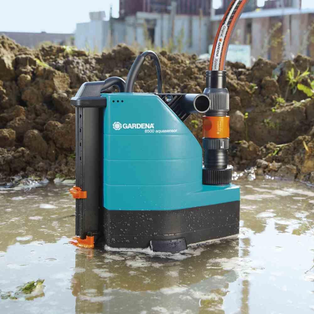 Schmutzwasser-Tauchpumpe Wasserpumpe Entwässerung Brunnenpumpe Gartenpumpe NEU