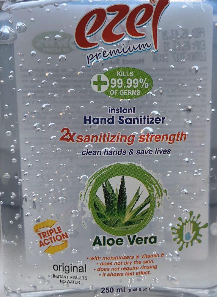 ezel Premium Handdesinfektion Gel 250ml Händedesinfektion Desinfektionsmittel  – Bild 5