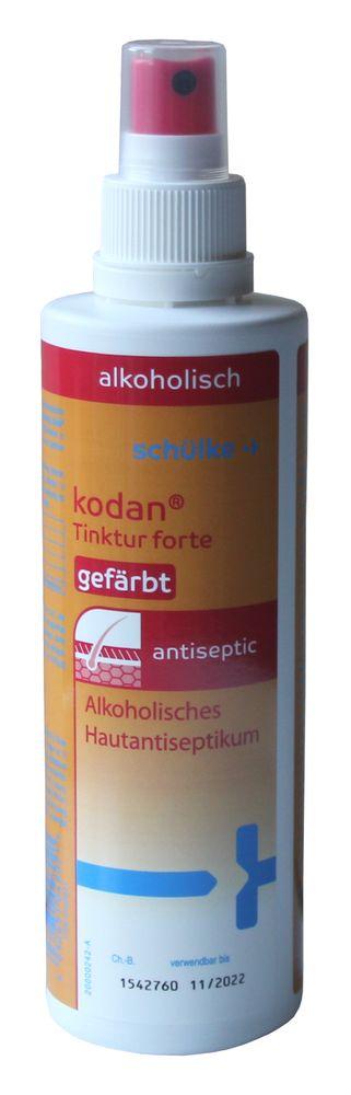 Schülke kodan Tinktur forte Hautantiseptikum Spray gefärbt 250ml Desinfektion
