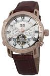 Reichenbach Armbanduhr für Herren mit Analog Anzeige, Automatik-Uhr und Lederarmband - Wasserdichte Herrenuhr mit zeitlosem, schickem Design - klassische Uhr für Männer - RB304-315 Mewes