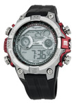 Burgmeister Herren Alarm-Chronograph Digitaluhr Digital Power, BM800-112A