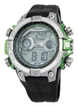 Burgmeister Herren Alarm-Chronograph Digitaluhr Digital Power, BM800-112D
