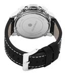 Reichenbach Armbanduhr für Herren mit Analog-Anzeige, Chronograph und Lederarmband - Wasserdichte Herrenarmbanduhr mit zeitlosem - klassische Uhr für Männer - RBT01-682 Grimm 003