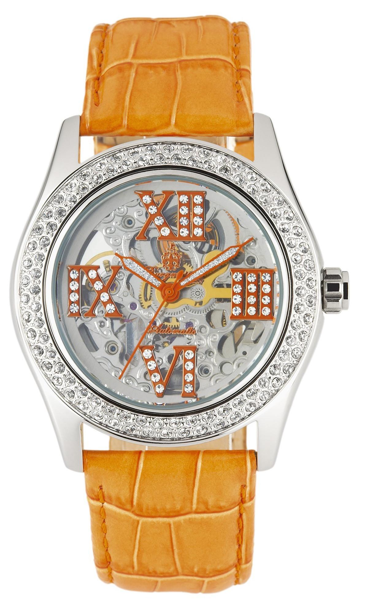 Damen 100b Automatikuhr Uhren Burgmeister RavennaBm140 54jAL3R