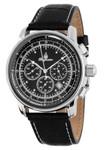 Burgmeister Armbanduhr für Herren mit Analog-Anzeige, Chronograph und Lederarmband - Wasserdichte Herrenarmbanduhr mit zeitlosem, schickem Design - klassische Uhr für Männer -   BM332-122 Tessin