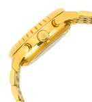 Burgmeister Armbanduhr für Herren mit Analog Anzeige, Automatik-Uhr mit Edelstahlarmband - Wasserdichte Herrenuhr mit zeitlosem, schickem Design - klassische Uhr für Männer - BM327-233 Denver 002
