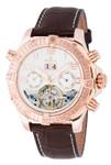 Burgmeister Armbanduhr für Herren mit Analog Anzeige, Automatik-Uhr und Lederarmband - Wasserdichte Herrenuhr mit zeitlosem, schickem Design - klassische Uhr für Männer - BM356-315 Köniz