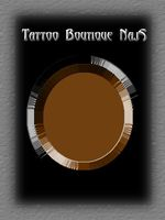 DYNAMIC Tattoo Ink, Brown, original name BRN. Not registered as a tattoo ink in Germany