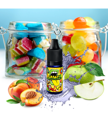 Big Mouth Aroma - Crazy Apples and Peaches - Classic Serie   10ml