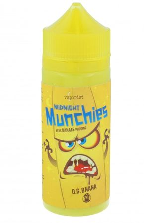Vaporist Midnight Munchies O.G. BNANA 100ml BOOSTED E-Liquid