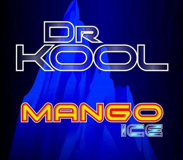 Vape247 Dr. Kool - Mango ICE - Premium 100ml Boosted Liquid Shortfill 8888