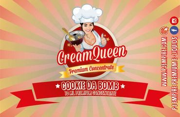 PJ Empire - Cream Queen - Cookie da Bomb - 10ml Aroma Longfill