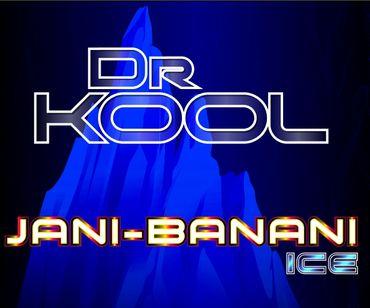 Jani Banani ICE - 100ml Premium Boosted Liquid Shortfill - Vape247 Dr. Kool