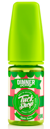 Apple Sours - Dinner Lady Tuck Shop - Shake and Vape 25ml