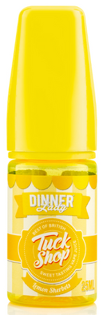 Lemon Sherbet - Dinner Lady Tuck Shop - Shake and Vape 25ml