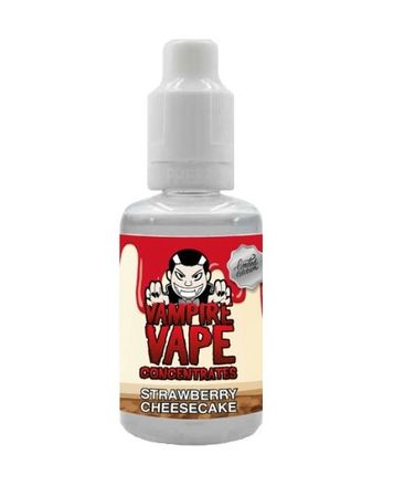 Strawberry Cheesecake - Org. - Vampire Vape Aroma 30ml (Limited Edition)
