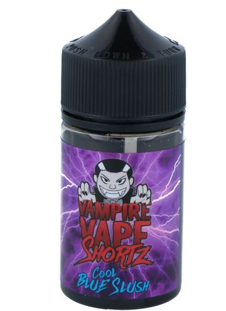 Cool Blue Slush - Vampire Vape SHORTZ - 50ml BOOSTED Liquid in 70ml Flasche