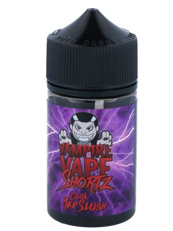 Cool Red Slush - Vampire Vape SHORTZ - 50ml BOOSTED Liquid in 70ml Flasche