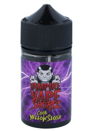 Cool Yellow Slush - Vampire Vape SHORTZ - 50ml BOOSTED Liquid in 70ml Flasche