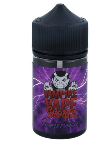 Purple Fusion - Vampire Vape SHORTZ - 50ml BOOSTED Liquid in 70ml Flasche