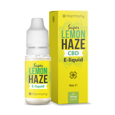 Super Lemon Haze - Harmony - CBD Liquid - 0 - 600 mg CBD - 10ml