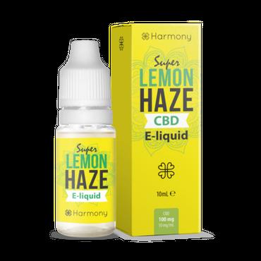 Super Lemon Haze - Harmony - CBD Liquid - 0 - 600 mg CBD - 10ml