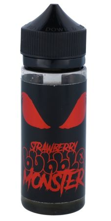 Strawberry - Boosted Liquid 100ml - Bubblemonster