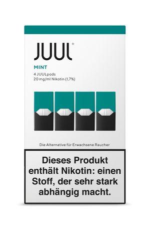 4x Juul Pods - Mint - Liquidpod Einwegkapsel  (4er Pack)