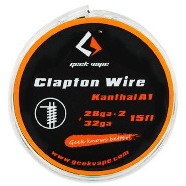GeekVape 5 Meter DIY Clapton Kanthal A1 Wire 2x28GA/32GA Wickeldraht