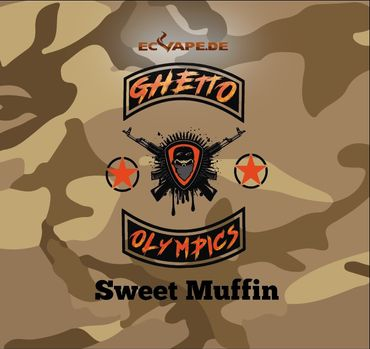 Sweet Muffin - Aroma Shot Longfill 10ml in 60ml Flasche - Ghetto Olympics
