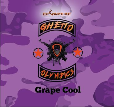 Grape Cool - Aroma Shot Longfill 10ml in 60ml Flasche - Ghetto Olympics