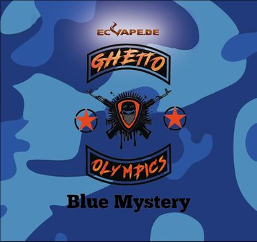 Blue Mystery - Aroma Shot Longfill 10ml in 60ml Flasche - Ghetto Olympics