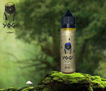 Blueberry Granola Bar - Boosted Liquid Shortfill 50ml in 60ml Flasche - YOGI