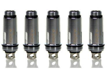 5x ASPIRE Cleito SS316L 0.4 Ohm Coils Heads / Verdampferköpfe (5er Pack)