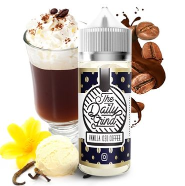 Vanilla Iced Coffee - 100ml Boosted Liquid - The Daily Grind
