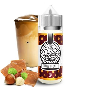 Toffee Nut Latte - 100ml Boosted Liquid - The Daily Grind
