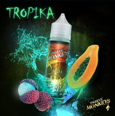 Tropika - 50ml overdosed Liquid in 60ml Flasche - Twelve Monkeys