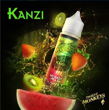Kanzi - 50ml overdosed Liquid in 60ml Flasche - Twelve Monkeys