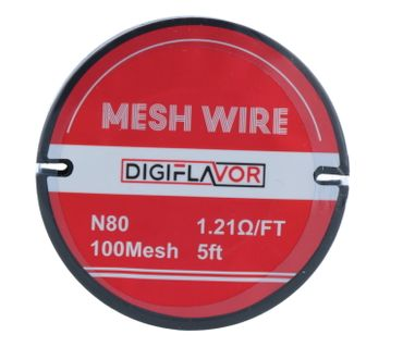Mesh Wire Ni80 1,5m Nickel - Digiflavor