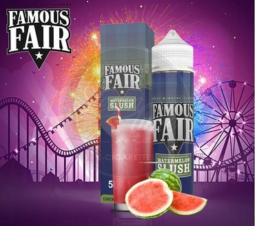 Watermelon Slush 50ml Shortfill BOOSTED - Famous Fair