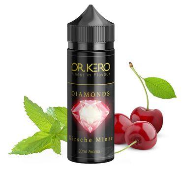 Kirsche-Minze DIAMONDS - 20ml Aroma Longfill 120ml Chubby - Dr. Kero