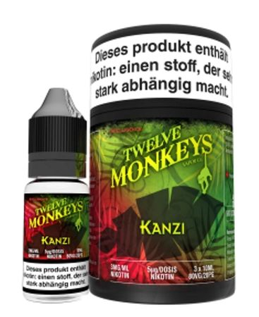 Twelve Monkeys - Kanzi Liquid 30ml