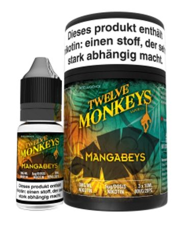 Twelve Monkeys - Mangabeys Liquid 30ml
