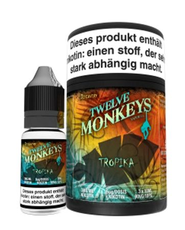 Twelve Monkeys - Tropika Liquid 30ml
